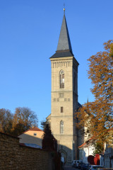 Kostel Panny Marie Na Náměti z Brandlovy ulice