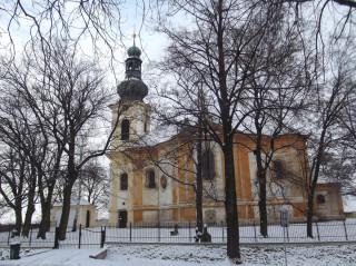 Kostel sv. Klimenta postavený podle plánů Kiliána Dientzenhofera