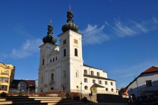 Bystřice nad Pernštejnem – kostel sv. Vavřince