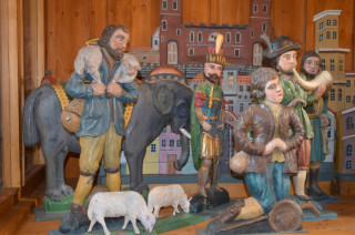 Mackův betlém - slon s koňským ohonem