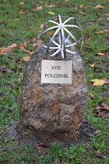 Památník 17. poledníku v Bučovicích