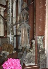 Boční pohled do kaple