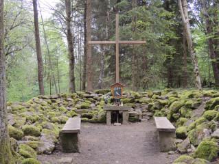 Lesní kaple v Romavě