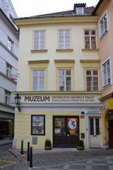 Muzeum historických nočníků a toalet, vstup