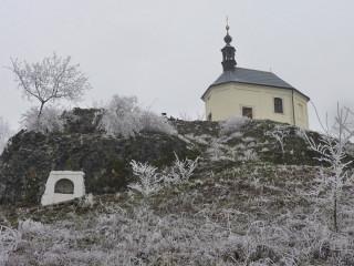 Opravený Boží hrob pod kaplí sv. Anny