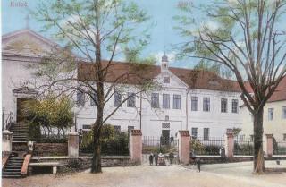 Zámek v Kolči ve 20. letech 20. století