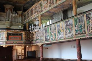 Varhany vyrobil mistr zBudyšína počátkem dvacátého století.