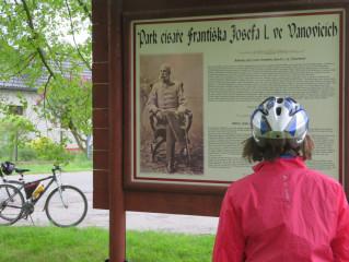 Park císaře Františka Josefa I. ve Vanovicích