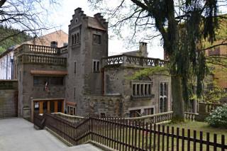 Někdejší sídlo rodiny Löwových