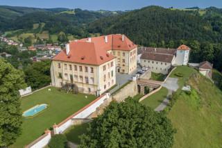Pohled na zámek od jihovýchodu