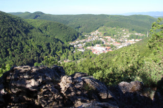 Vyhlídka na Trenčianské Teplice