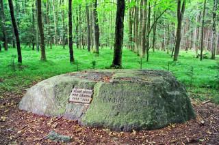 Pamětní kámen Františka Palackého v Němčicích