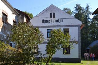 Hamzův rodný mlýn v Kletečné