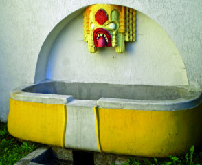Přepad z vodojemu