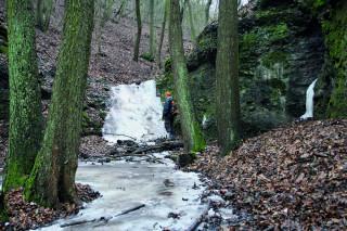 Vodopád u Budkovic