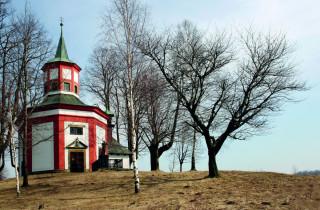 Kaple svatého Jana Nepomuckého před Hartmanicemi