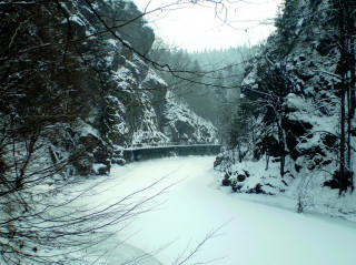 Riegrova stezka na Jizeře v zimě