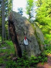 Čertův kámen ve Smrčné