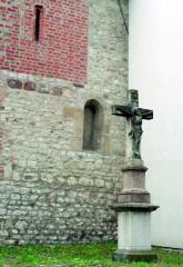 Středověké zákoutí severní zdi