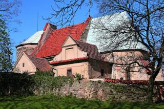 Kostel v Hradešíně