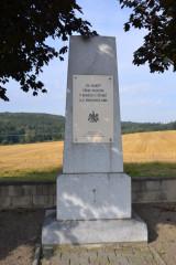 Památník u silnice Štoky - Jihlava