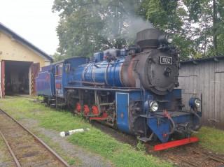 Úzkorozchodná parní lokomotiva slezských zemských drah