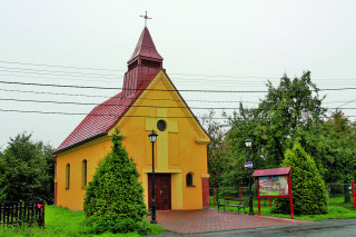 Kaple sv. Jana Nepomuckého na náměstí sv. Floriána