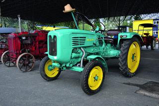 Traktor MAN je jedním z posledních přírůstků sbírky.