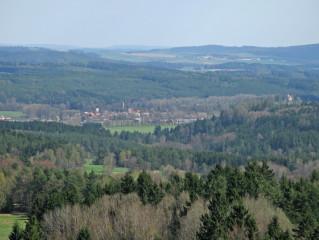 Výhled na Český Rudolec