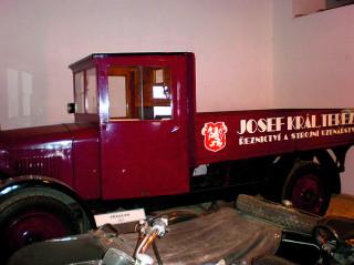 Muzeum automobilů v Terezíně