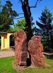 Čertovy kameny v arboretu na Žampachu