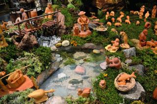 Selský betlém v Schumpeterově domě