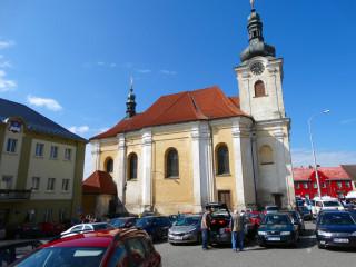 Barokní kostel sv. Aloise
