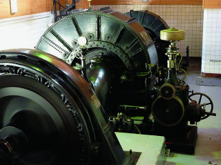Francisovy turbíny z r. 1907