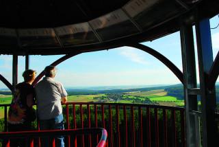 Panoramatický výhled z rozhledny