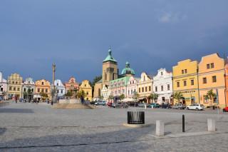 Havlíčkovo náměstí v Havlíčkově Brodě