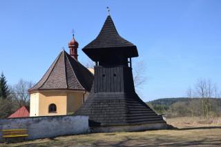 Zvonice a kostelík sv. Jiří
