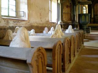 Kostel duchů v Lukové