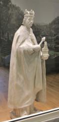 Karel IV. Model sochy od ak. soch. O. Švece, originál stojí u Císařských lázní.