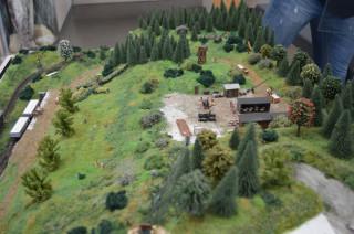 Centrum caolinum - model kaolinového dolu Ve spadlinách