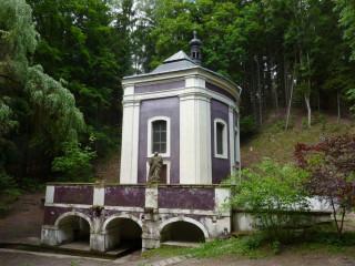 Klokočka - kaple nad pramenem