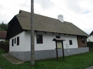 Zrekonstruovaný rodný domek Františka Křižíka v Plánici - dnes muzeum