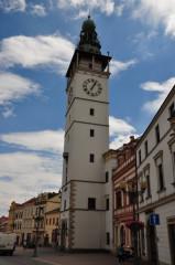 Vyškov – radniční věž na Masarykově náměstí