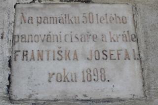 Císař František Josef I. nastoupil na trůn 2. prosince 1848