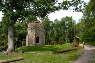 Alainova věž pod Táborem